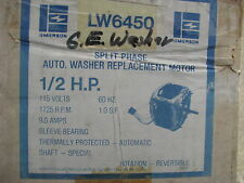 Emerson Lw6450 Washing Machine Motor Ge 1/2 Hp
