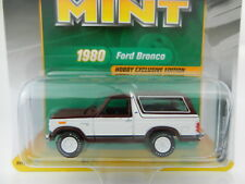 2017 RC 1:64  RACING CHAMPIONS MINT MAROON & WHITE 1980 Ford BRONCO *NIP*