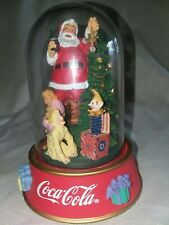 Franklin Mint~1996 Coca-Cola Santa Claus Ltd Edition~Things Go Better With Coke