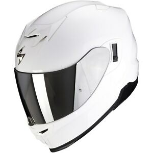 Scorpion EXO-520 Air Solid Motorcycle Helmet Full Face Sport with Sun Visor