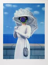 René Magritte - The Great War (signed & numbered lithograph)