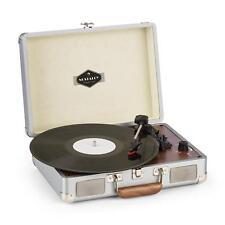 (Ricondizionato) Giradischi Vintage Valigetta Lettore LP Vinili 33 45 USB Casse