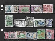 Fiji 1954/9 set G/FU