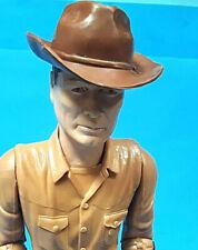 vtg 1960s Marx Johnny West lot 3 good Cowboy & accessories