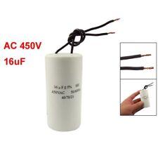 CBB60 AC 450V 16uF Cable moteur course demarrage SH Condensateur 50/60Hz B6T2