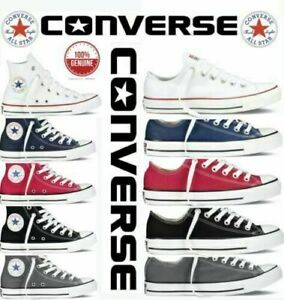 AU Converse All Star MENS & WOMENS Hi Top Canvas Chuck Taylor Trainers Shoes