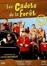 LES CADETS DE LA FORET - SAISON 1 - PARTIE 1 /*/ COFFRET 3 DVD NEUF/CELLO