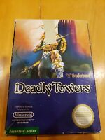 Deadly Towers (Nintendo Entertainment System, 1987) NES CIB