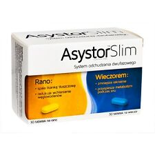 ASYSTOR SLIM  60 tablets supports weight loss and reduces cellulite