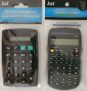 Pocket Calculators Home, School or Office S21, Select: Basic Math or Scientific