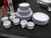 Seltmann Weiden   Compact Iris  Service For 8 + Extras Porcelain  Dinnerware Set