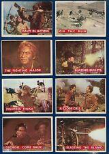 1956 Topps Davy Crockett 8 Card LOT (EX) Walt Disney #s 14 61 58 17 52 54 22 79