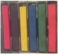 Hot Huez Hues, Temporary Hair Chalk Dye Soft Pastels Salon Kit (Non-Toxic)