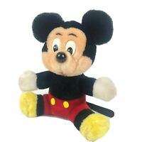 Vintage Walt Disney World Mickey Mouse Classic Plush Stuffed Mouse Toy 7""