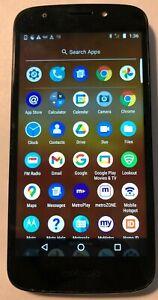 [BROKEN] Motorola MOTO E5 Play XT1921-1 (Metro PCS) Gray Smart Phone Crack