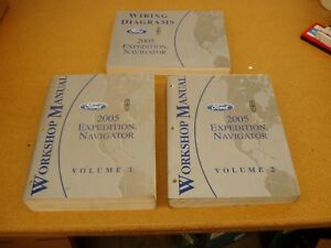 Repair Manuals Literature For 2005 Ford Expedition For Sale Ebay
