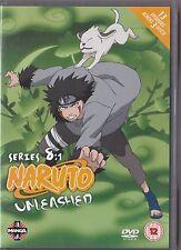 NARUTO UNLEASHED SERIES 8 VOLUME 1 DVD MANGA 13 EPISODES