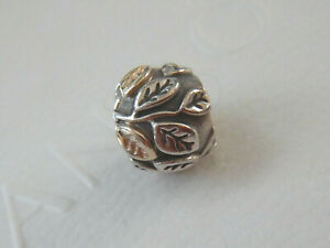 Authentic PANDORA S/Silver & 14 Carat Gold TREE OF LIFE Charm. #790429