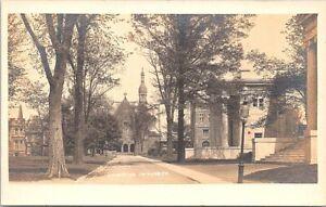 RPPC Princeton University Campus Scene early 1900s