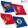 OFFICIAL FOOTBALL SOCCER CLUB TEAM FACE CLOTH GYM TRAINING TOWEL 100% COTTON NEW