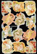 # GLANZBILDER # MLP 1803, süße Blumenelfen, Blumen - Elfen ..zum Verlieben