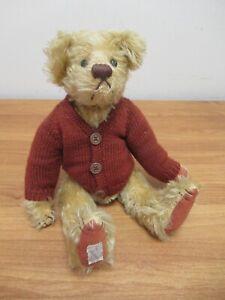 Deans Rag Book Mohair Teddy Bear in Cardigan [193]