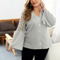 Long Sleeve Autumn Women's Knitted  Sweater Jumper Outwear Cardigan Tops