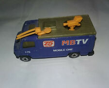 MOBILE ONE NEWS VAN ●● MATCHBOX TV 75  ●● INTERSTATE 75 TRUCK●● I-75 FLORIDA