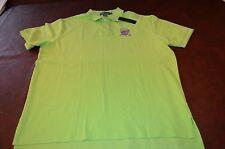 NWT MSRP $89 Polo Ralph Lauren Mens Golf  Shirt Green 100% Cotton Size XL