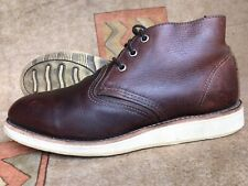 Red Wing 3141 Briar Leather Mens Chukka Size 8 D
