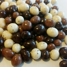 2 LB Chocolate Covered Espresso Beans Coffee Tricolor Candy Free Shipping