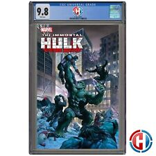 IMMORTAL HULK #47 CGC Graded 9.8 PRESALE 6/2/21 Marvel Comics