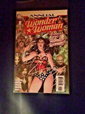 WONDER WOMAN Annual 1 Comic DC 2007 Heinberg Dodson NM