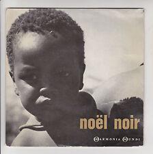 """ENSEMBLE VOCAL RAPHÄEL PASSAQUET Disque 45T 7"""" EP NOËL NOIR César GEOFFRAY RARE"""