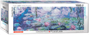 Eurographics 1000 piece jigsaw puzzleWATERLILIES BY CLAUDE MONET