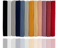 Spannbettlaken Aqua/Baumwolle/Elasthan für Wasserbetten geeign./ versch. Farben