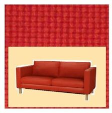 New Ikea Karlstad COVER SET for 2 seat sofa  in Korndal Red
