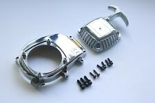 Plastic Chrome Engine Cover Kit for CY Zenoah HPI Baja 5B 5SC King Motor Rovan