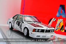 Minichamps 1:18 1986 BMW 635 CSi Art Car Robert Rauschenberg Museum Edition