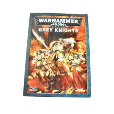 GREY KNIGHTS codex army book #1 Warhammer 40K