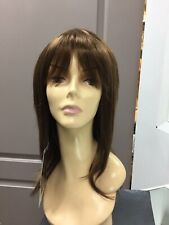 FLAUNT F Young ROCK CANDY Long Layered Straight Wig 8/12/27HL Brown + Highlights