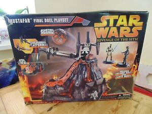Star Wars Revenge of the Sith Mustafar The Final Duel Playset Boxed