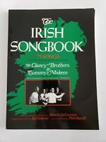 The Irish Songbook Sheet Music 75 Songs from The Clancy Brothers & Tommy Makem