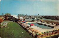 Atlantic City New Jersey 1960s Postcard The Fabulous Golden Gate Motel
