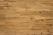SALE !!! Antique Wall Cladding Reclaimed Wood Paneling Recycled Vintage Brushed