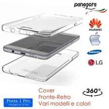 Cover Fronte Retro TUTTI I MODELLI  360 gradi TPU per Samsung Huawei Iphone e LG