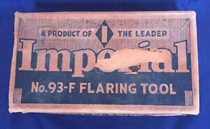 Vintage Imperial No. 93-F Flaring Tool RARE Collectible Excellent Condition
