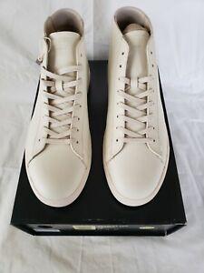 CLAE Los Angeles Men's Cream HighTop Sneakers Size 10US/9UK
