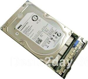"""DELL 1P7DP 01P7DP 2TB 7.2K 6Gb/s 3.5"""" SAS  Drive ST2000NM0023 W/Caddy Tray"""