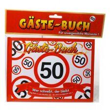 Gästebuch zum 50. Geburtstag Party Dekoration Geschenk